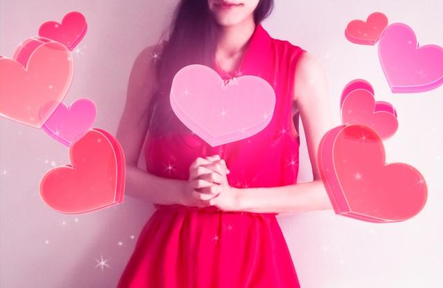 恋の成就を願う女性